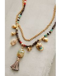 Gas Bijoux - Metallic Orli Tassel Necklace - Lyst