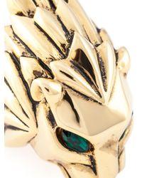 Giuseppe Zanotti | Metallic Lion Ring | Lyst