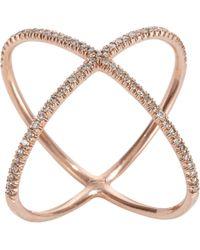 Eva Fehren | Metallic x Ring | Lyst
