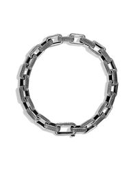 David Yurman - Blue Sky Small Link Bracelet for Men - Lyst