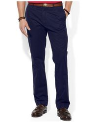 Polo Ralph Lauren - Blue Straight-Fit Hudson Chino Pants for Men - Lyst