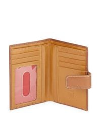 Tusk | Brown Slim Leather Indexer Wallet | Lyst