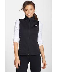 3b85bb6ae Women's Black 'canyonwall' Hardface Fleece Vest