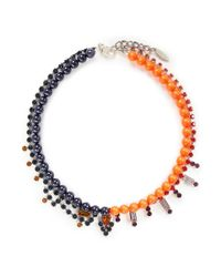 Joomi Lim | Multicolor Crystal Bead Double Strand Necklace | Lyst