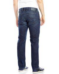 DIESEL - Blue Waykee Regular Straight Jeans for Men - Lyst