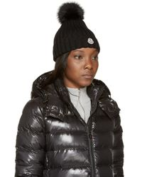 Moncler | Black Berretto Hat | Lyst