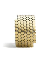 John Hardy - Metallic Dot Multiple Coil Bracelet - Lyst