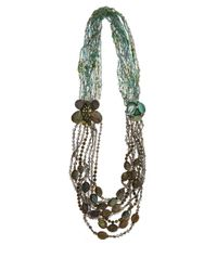 Iradj Moini - Green Labradorite Beaded Butterfly And Ladybird Necklace - Lyst