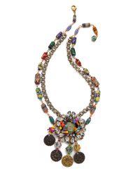 Erickson Beamon - Multicolor Fashion Tribe Necklace Multi - Lyst
