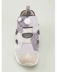 Reebok   White 'Gs Instapump Fury' Trainers for Men   Lyst