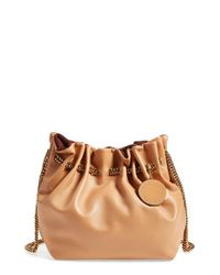Stella McCartney - Natural 'alter Nappa' Crossbody Bucket Bag - Lyst