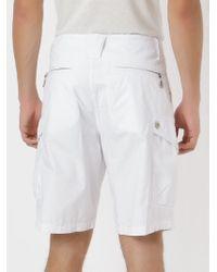 Osklen | White Cargo Shorts for Men | Lyst
