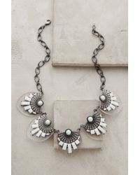 BaubleBar - Green Janina Lucite Necklace - Lyst