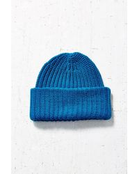 Urban Outfitters Blue Stand Up Beanie