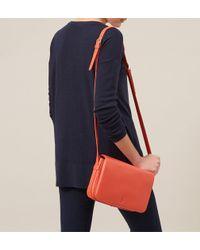 Hobbs - Orange Adlington Satchel - Lyst