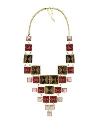 Kendra Scott | Red Maddox Statement Necklace | Lyst