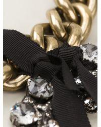 Lanvin | Metallic Mira Heart Bracelet | Lyst