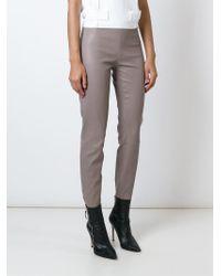 Jitrois | Gray Skinny Trousers | Lyst