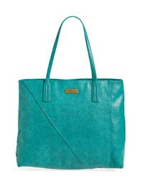 Volcom | Blue 'staycation' Tote | Lyst