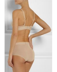 Baserange - Natural Stretchbamboo Softcup Triangle Bra - Lyst