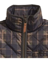 H&M Brown Quilted Jacket