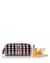 Tory Burch Multicolor Printed Cosmetic Case