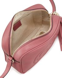 Gucci - Pink Soho Leather Disco Bag - Lyst