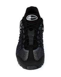 Nike | Black 'air Max 95 Ultra Jcrd' Sneakers for Men | Lyst
