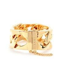 Emilio Pucci Metallic Chainlink Bracelet