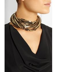 Rosantica - Metallic Schiava Gold-Tone Necklace - Lyst