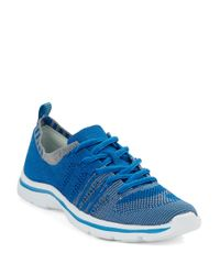 Anne Klein | Blue Weekend Lace-Up Sneakers | Lyst
