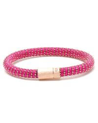 Carolina Bucci | Metallic Twisted 18k Gold-plated Sterling Silver Bracelet | Lyst