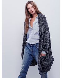Free People | Gray Womens Eyes On You Cardi | Lyst