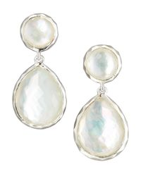 Ippolita | White Rock Candy Drop Earrings | Lyst