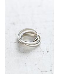 Urban Outfitters - Metallic Stay Linked Ring - Lyst