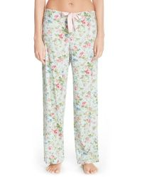 Lauren by Ralph Lauren | Purple Print Pajama Pants | Lyst