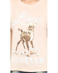 Spell Pink Forever Lover Tee - Blush