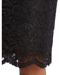 Vince Camuto Black Lace Skirt