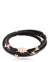 Tomasz Donocik | Pink Swarovski 3 Wrap Around Stars Bracelet | Lyst