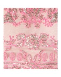 Valentino - Pink Embellished Tulle Gown - Lyst