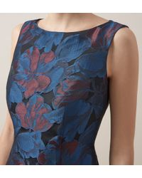 Hobbs - Blue Efa Dress - Lyst