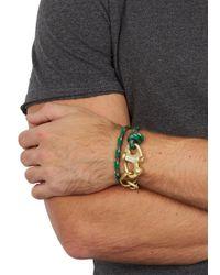 Miansai - Picton Green Rope Keychain Bracelet for Men - Lyst