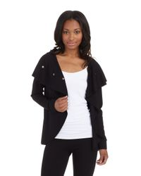 Kensie | Black High Neck Jacket | Lyst