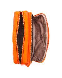 Anya Hindmarch Orange Small Make Up Bag