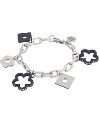 Marc By Marc Jacobs | Metallic Daisy Chain Bracelet, Women's, Matte Black Multi | Lyst