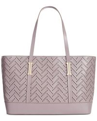 63f4822c3e5b Lyst - Ivanka Trump Hudson Double Shoulder Tote in Purple