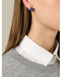 Marc By Marc Jacobs | Blue 'All Tied Up' Earrings | Lyst