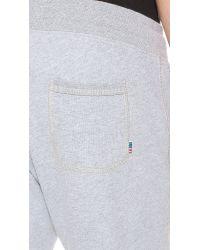 Shipley & Halmos Gray Robinson Sweatpants for men