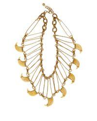 Lulu Frost - Metallic Gold-Tone Cleo Statement Necklace - Lyst