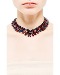 House of Lavande - Red Collar Necklace - Lyst